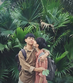 aesthetic, alternative and asian gay
