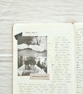 spread, bullet journal and aesthetic