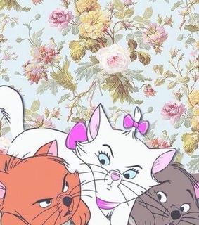 disney, wallpapers and cats