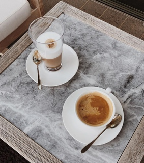 we heart it, chats and cappuccino
