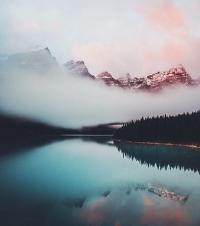 colors, lake and landscape