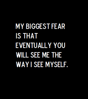 quote, depressing and insecurity
