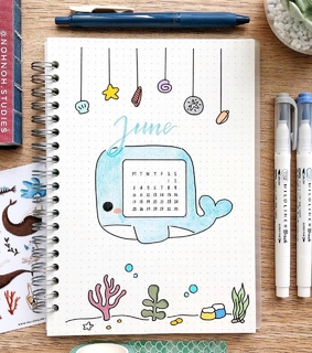 aesthetic gallery, bullet journal and bujo
