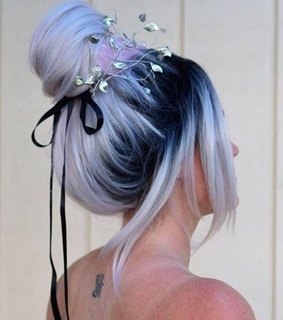 beautiful, beautiful colored hair and colored hair
