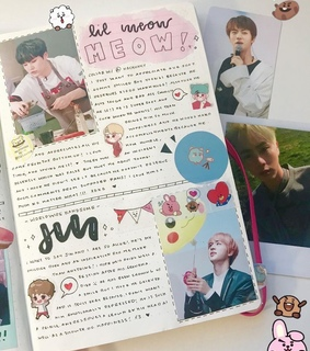 aesthetic, bts and cute