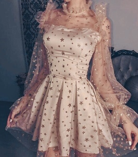ivory, pale pink and glitter