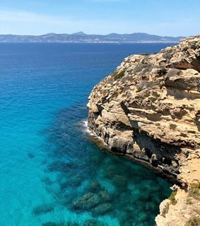 mallorca, turquoise and spain