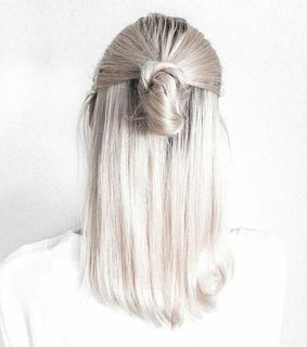 girls, style and hair