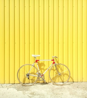 aesthetic, bicycle and bright