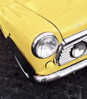 yellow, cars and automobiles