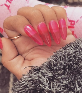 girly style, fashion and nails goals