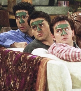 David Schwimmer, Joey and Matt LeBlanc