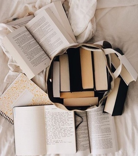 living, read and books
