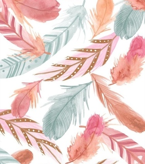 pink, background and feathers