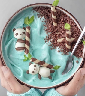 animals, bowl and delicious