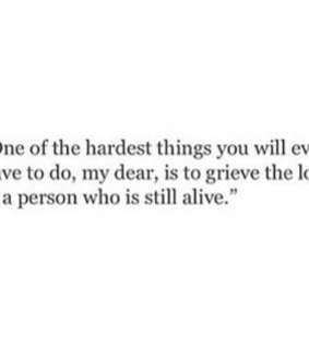 grieve, goodbye and love