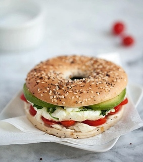 sandwich, snack and healthy