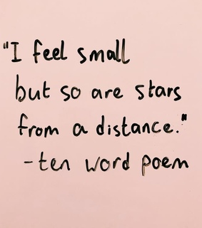 stars, words and distance