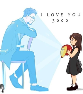 father & daughter, tony stark and cute