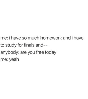 college, tumblr and finals
