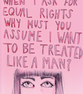 woman, rights and man