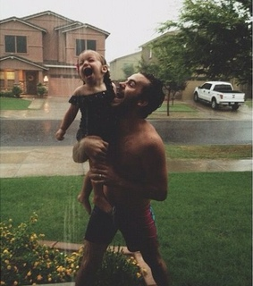 rain, dad and lovely