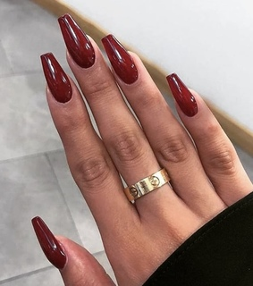 beauty, burgundy and cartier