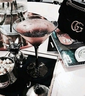 drink, pink gold and gucci