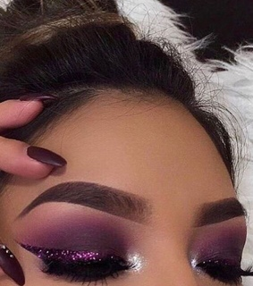 beauty, brows and eyeshadow