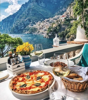 pizzas, pizza and lunch