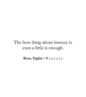 words, brave and beautaplin