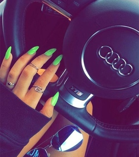 cute, neon and green