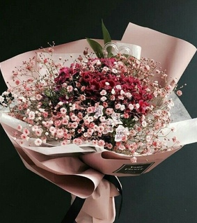 bouquet, gift and flowers