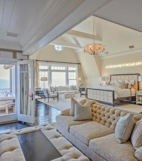 ocean view, master bedroom decor and home