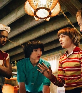 byler, caleb mclaughlin and eleven