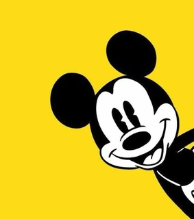 cute, yellow and mickey