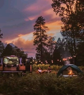 aesthetic, camping and couple