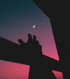 aesthetic, skies and moon