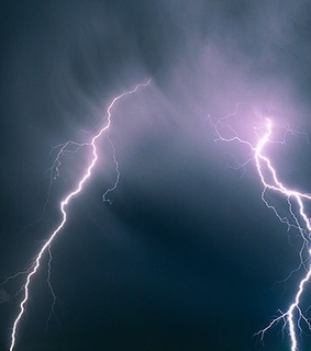 weather, lightning and sky
