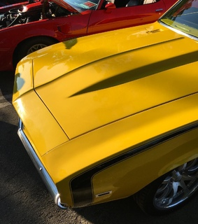 cars, vintage and yellow
