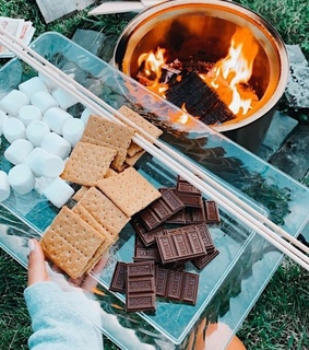 inspiration, s'mores and chocolate