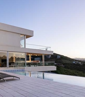architecture, modern house and mansion