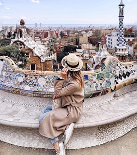 girl, travel and hat