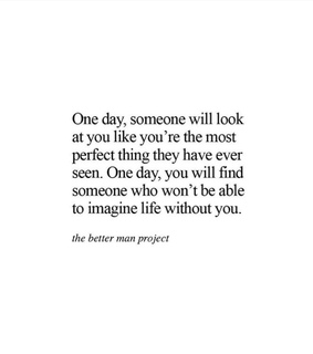 imperfectly, love and one day