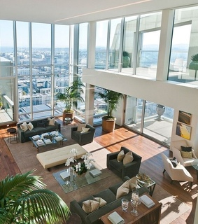 beautifully decorated, city view and style