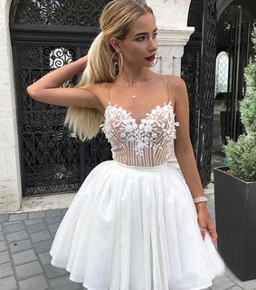 mini dress, fashion and short prom dress
