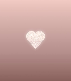 rose gold, heart and glitter