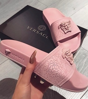Versace, black and nails
