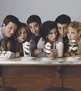 Joey, chandler and friends