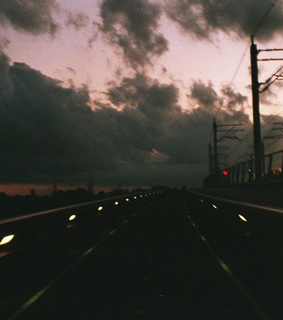 35mm, clouds and drive